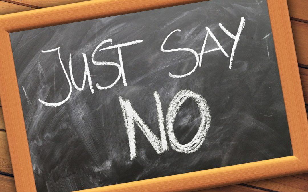 """[VA Tip] Why you should say """"No"""""""